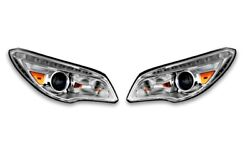 New Left And Right Genuine Headlights Pair Set For Buick No Adaptive Headlamps Gm