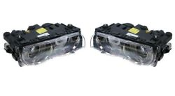 Left And Right Genuine Xenon Headlights Headlamps Pair Set For Bmw E38 7 Series