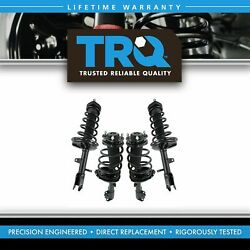 Trq Complete Loaded Strut Spring Assembly Front And Rear Kit 4pc For Lexus Rx350
