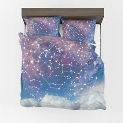 Star Constellations Duvet Cover Or Comforter Space Bedding Toddler Twin Queen