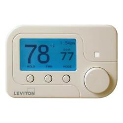 Leviton RC-2000WH Omnistat2 Multistage & Heat Pump with Humidity Control...