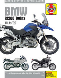 SHOP MANUAL BMW R1200 TWINS '04 to '09 SERVICE REPAIR HAYNES CLYMER WORK BOOK