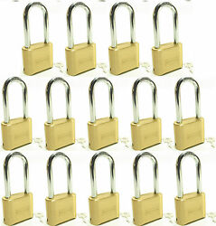Master Lock Solid Brass 175lh Lot 14 Set To Your Own Combination Padlock
