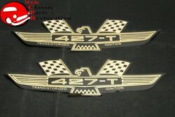 63 64 65 66 Ford Eagle Valve Cover Decals W/transitorized Ignition Pair