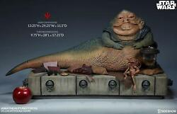 1/6 Scale Star Wars Jabba The Hutt And Throne Deluxe Sideshow 100410