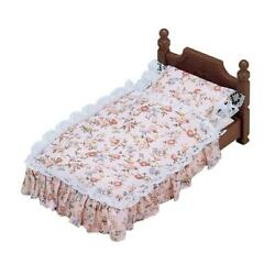 Sylvanian Families Antique Bed Classic Single Bed Pillow Mattress Accessory 5223