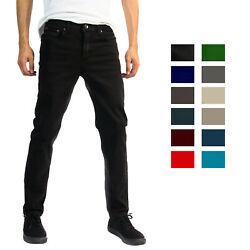 Alta Designer Fashion Mens Slim Fit Skinny Denim Jeans - Multiple Colors