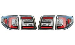 Left And Right Inner And Outer Genuine Tail Brake Lights Lamps Kit Pair Set For Gmc