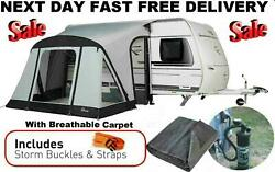 New+carpet 2021 Dorema Quick And N Easy 265 Air Inflatable Caravan Porch Awning
