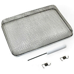 Hqrp 5.9x8.5 Rv Furnace Water Heater Vent Cover Flying Bug Insect/rodent Screen