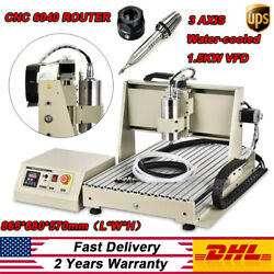 3 AXIS CNC 6040 Router Engraver 1500W Cutting Milling Drilling Engraving Machine