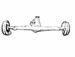 Rear Axle Assembly Fits 08 09 10 11 13 14 15 Toyota Land Cruiser Oem