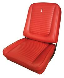 Comet Cyclone Upholstery For Front Buckets And Rear Seat 1965