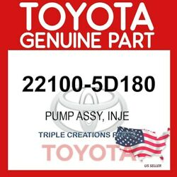 22100-5d180 Genuine Oem Toyota Hiace Fortuner Pump Assy Injection 221005d180