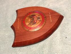 1939 Us Army First Army Maneuvers Plattsburgh Ny Plaque