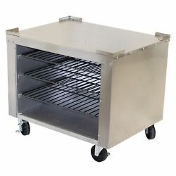 Peerless Spk31 Oven Stand, All Stainless Top, Sides, Back And Legs, For Counter...