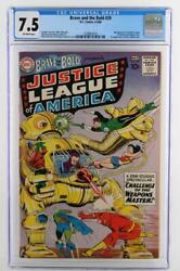 Brave And The Bold 29 - Cgc 7.5 Vf- Dc 1960- 2nd App Justice League Of America