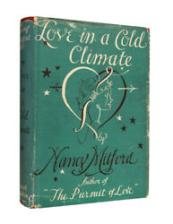 Nancy Mitford – Love In A Cold Climate – First UK Edition 1949 – 1st Book