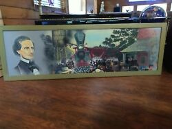 Larry Arnold Andcopy Civil War Confederate Acrylic Painting Voice Of The Southland
