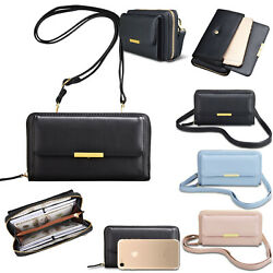 Women Ladies Crossbody Shoulder Bag Messenger Leather Satchel Phone Card Handbag $16.99