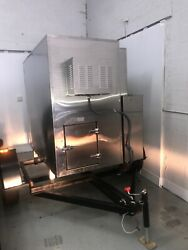 Fast Eddy's Model 300 Stainless Steel Grill by Cookshack. Never used.