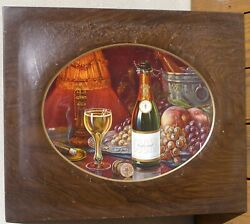 Early 1900and039s Cookand039s Champagne Tin Sign