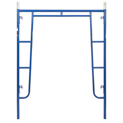 5and039 X 6and0394 Section Of Blue Heavy Duty Scaffold - Walk Thru Scaffold Package