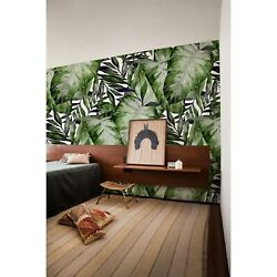 Tropical Monstera Leaf Removable Wallpaper Self Adhesive Art Prints Green Exotic