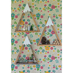 Removable Wallpaper Cute Vintage Floral Pattern Colorful Flowers For Nurseries