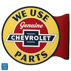 Chevrolet Genuine Parts Flanged Wall Man Cave 13.4 X 12