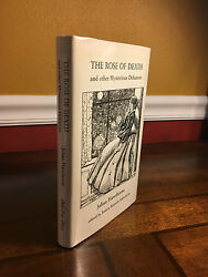 1997 1st Edition The Rose Of Death Julian Hawthorne Ash Tree 500 Copies Signed