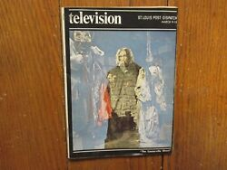 March 9-1975 St. Louis Post-dispatch Tv Magazthe Canterville Ghost/david Niven