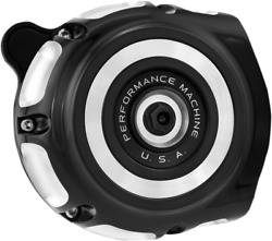 Performance Machine Vintage Air Cleaners For Indian Contrast Cut0206-2133-bm