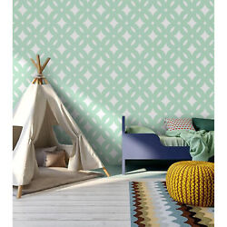 Circle Pattern Traditional Non-woven Wallpaper Wall Home Bedroom Ation Mural
