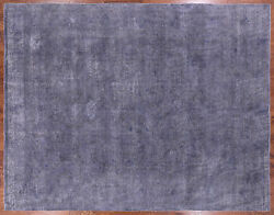 9and039 5 X 11and039 10 Hand Knotted Overdyed Wool Rug - P9416