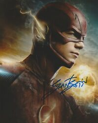 Grant Gustin The Flash Autographed Signed 8x10 Photo Coa Mr307