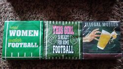 909 Napkins Real Women Watch Football Illegal Motion This Girl Super Bowl Party