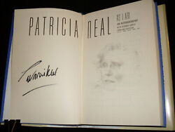 The Fountainhead Patricia Neal Signed As I Am 1st Printing Hardcover Book