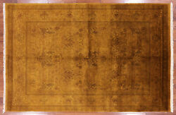 Hand Knotted Full Pile Overdyed Area Rug 6and039 0 X 9and039 1 - Q1879