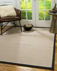Hand Crafted 100 Sisal Durable Non-slip Eco-friendly Modern Blair Area Rugs