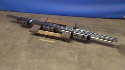 Thk 88.5 Long Cnc Automation Linear Guide Rail / Slider With 3 Bearing Blocks