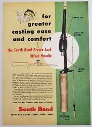 1954 Print Ad South Bend Stepglass Fishing Rods South Bend,indiana