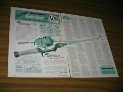 1957 Print Ad South Bend Spin Cast 77 Fishing Reels And Model 2320 Rods Indiana