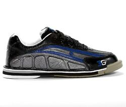 Mens 3g Tour Ultra Bowling Shoes Interchangeable Black/blue Size 8-13 Right Hand