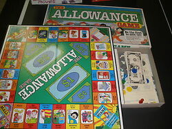 The Allowance Game By Lakeshore Learning - Complete 1992