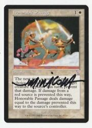 Honorable Passage - Artist Signed - Jeff Miracola - Near Mint - Mtg