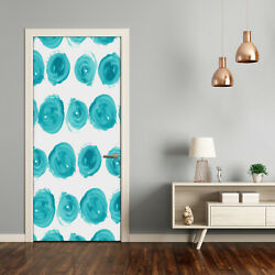 Self Adhesive Door Wall Wrap Removable Peel And Stick Decal Dots