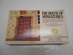 The House Of Miniatures Contentscomponents For 1 Chest Collectors Series 40009