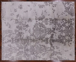 8and039 0 X 9and039 10 Modern Hand Knotted Wool Rug - H5783