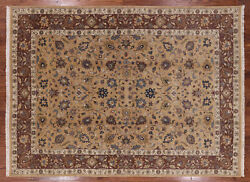 7and039 9 X 10and039 9 Peshawar Hand Knotted Wool Area Rug - H416
